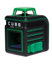 Лазерный уровень (нивелир) CUBE 360 Green Ultimate Edition