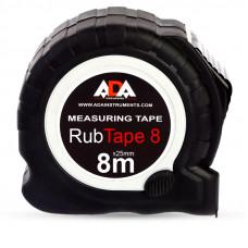 Рулетка измерительная ADA RubTape 8