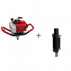 Мотобур ADA Ground Drill 7 без шнека + адаптер пружинный в подарок!