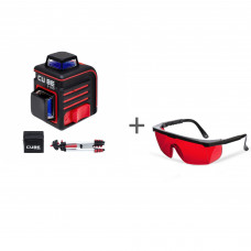 Нивелир лазерный ADA CUBE 2-360 PROFESSIONAL EDITION + очки лазерныеADA Laser Glasses в подарок!