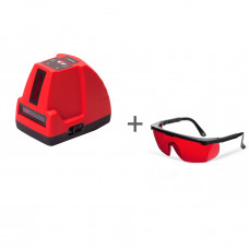 Нивелир лазерный ADA Phantom 2D + очки лазерныеADA Laser Glasses в подарок!