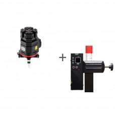 Уровень лазерный ADA 6D SERVOLINER + приемник луча построителей плоскости LR-60 в подарок!