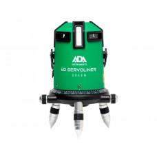 Уровень лазерный ADA 6D SERVOLINER GREEN с калибровкой
