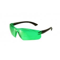 Очки лазерные ADA VISOR GREEN