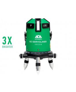 Нивелир лазерный ADA 6D SERVOLINER GREEN