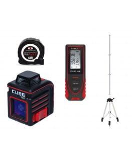 Нивелир лазерный ADA CUBE 360 BASIC EDITION + ADA COSMO MINI  + ADA LIFT 34 + ADA RubTape 5