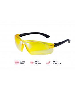 Очки защитные желтые ADA VISOR CONTRAST