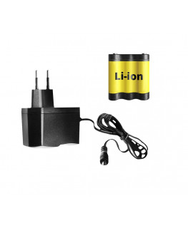 Зарядное устройство и литий ионный аккумуляторADA для CUBE 360, CUBE 2-360, 2D Basic Level