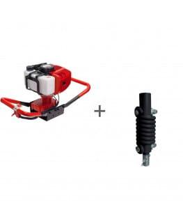 Мотобур ADA Ground Drill 5 без шнека + Адаптер пружинный ADA SPRING ADAPTER 20/20- А00317, А00366