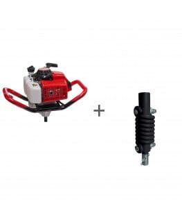 Мотобур ADA Ground Drill 7 без шнека + Адаптер пружинный ADA SPRING ADAPTER 20/20