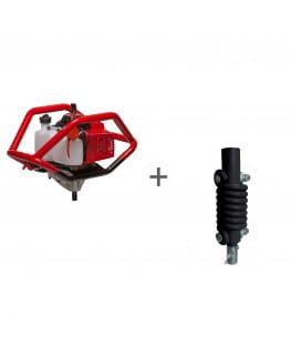 Мотобур ADA Ground Drill 8 без шнека + Адаптер пружинный ADA SPRING ADAPTER 20/20