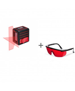 Нивелир лазерный ADA Cube Mini Basic Edition + очки лазерныеADA Laser Glasses в подарок!