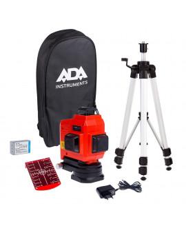 Лазерный уровень (нивелир) ADA TopLiner 3x360 set