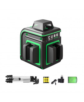 Нивелир лазерный ADA CUBE 360 2V GREEN PROFESSIONAL EDITION