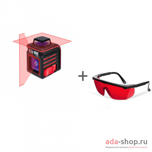 ADA CUBE 360 BASIC EDITION, ADA Laser Glasses А00443, А00126 в фирменном магазине ADA