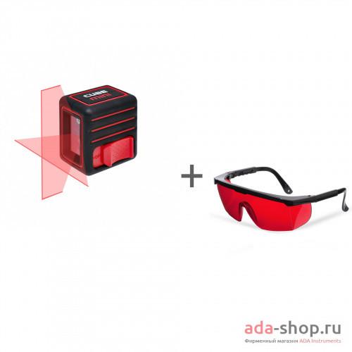 Cube Mini Basic Edition, ADA Laser Glasses А00461, А00126 в фирменном магазине ADA
