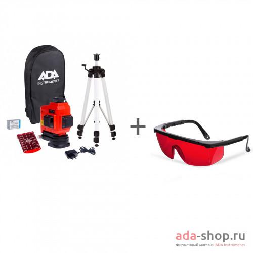 TopLiner 3x360 set, ADA Laser Glasses А00484, А00126 в фирменном магазине ADA