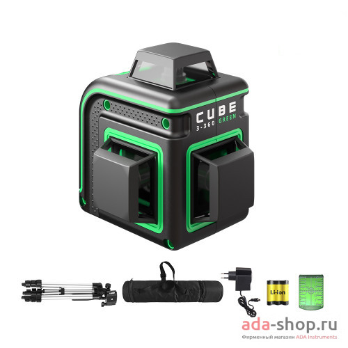 CUBE 3-360 GREEN PROFESSIONAL EDITION А00573 в фирменном магазине ADA