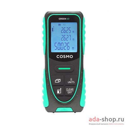 COSMO 60 GREEN с функцией уклономера А00629 в фирменном магазине ADA