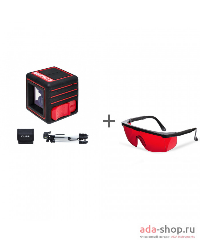 ADA CUBE 3D PROFESSIONAL EDITION, ADA Laser Glasses А00384, А00126 в фирменном магазине ADA