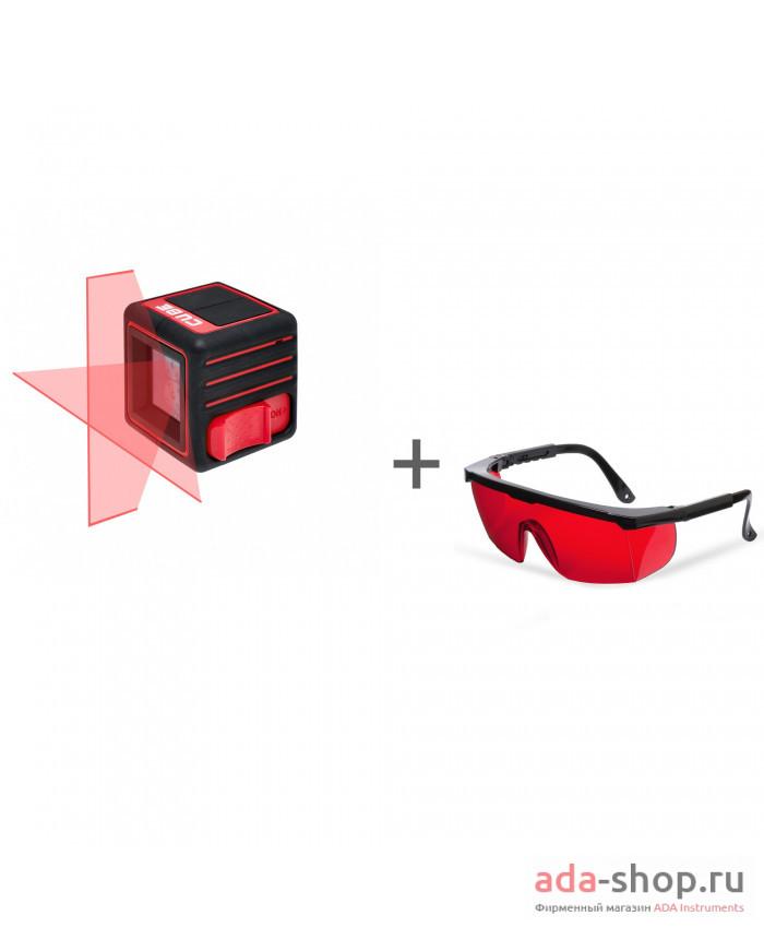 ADA CUBE BASIC EDITION, ADA Laser Glasses А00341, А00126 в фирменном магазине ADA